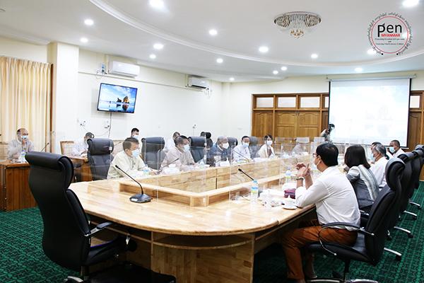 အဂတိလိုက်စားမှုတိုက်ဖျက်ရေးကော်မရှင်နှင့် ပြုလုပ်ခဲ့သည့် ဆွေးနွေးပွဲ