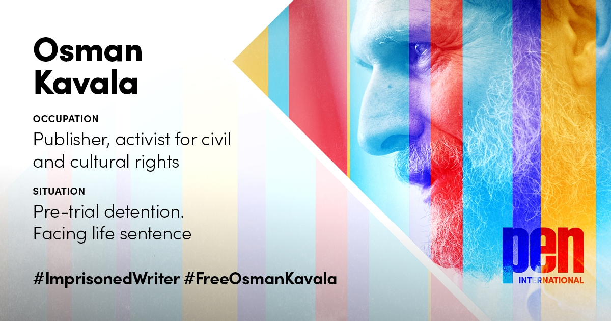 #ImprisonedWriter #FreeOsmanKavala
